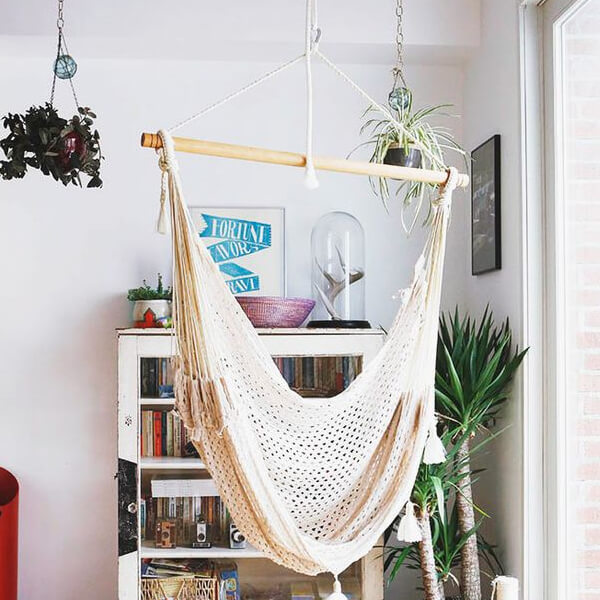 How To Hang A Hammock Chair Indoors Or