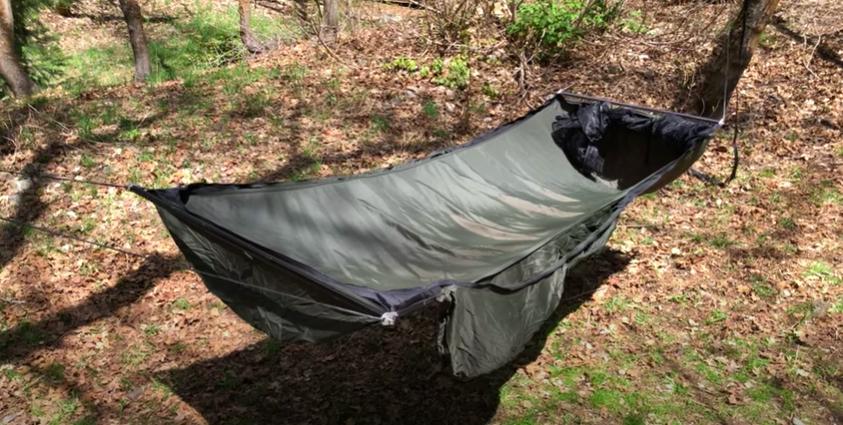 warbonnet ridgerunner lay flat hammock