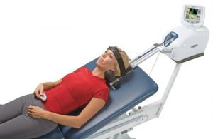 cervical traction unit to relieve neck pain
